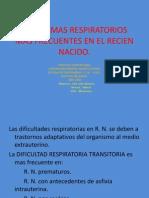 Problemas Respiratorios Mas Frecuentes en El Recien Nacido-2