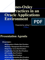 Sox Best Practices Oracle Apps 200410