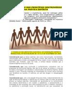 PRESERVAÇÃO DOS PRINCÍPIOS DOUTRINÁRIOS NA PRÁTICA ESPÍRITA