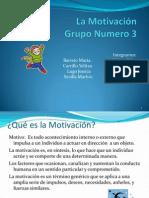 La Motivacion Diapositiva