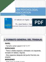 NORMAS PARA  PUBLICACIÓN APA- UPEU