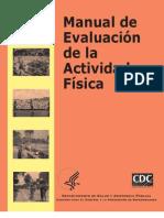 Manual de Evaluación de la Actividad Física