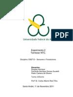 Relatório_Exp2_Termistor NTC_Sensores e Transdutores_Trim3.3