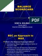BSC Orientation