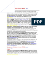 19635893 Manajemen Database Dengan MySQL