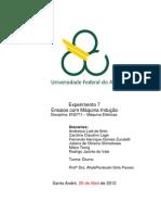 Relatório_Exp7_Ensaios com Máquina Indução_Máquinas Elétricas_Trim4.1