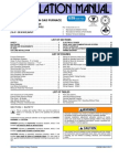 DGAA and DGAH Installation Instructions - 129098-UIM-G-0411