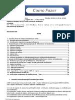 COMOFAZER GeracaoDIRF InformedeRendimentos ROTINAS2012