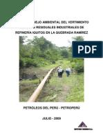 Pma Vertimiento de Aguas Residuales - Petroperu