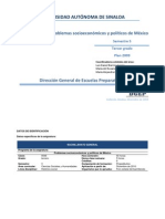 P51 Problemas Socioeconomicos y Politicos de Mexico