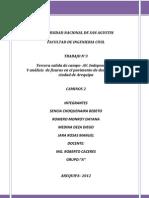 Tercer Informe-Av Independencia y Analisis de Fisuras en Calles de Aqp