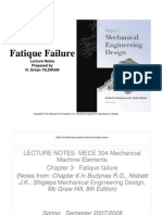 Fatique Lecture Notes