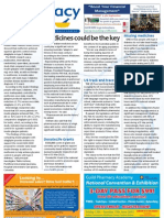 Pharmacy Daily for Thu 14 Jun 2012 - Medicines are the key, Diabetes, US track and trace, Men\'s health and much more...