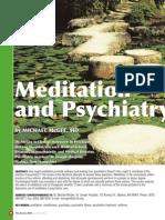 Psyachiatry Meditation