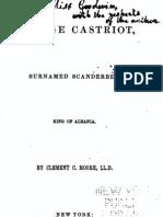 George Castriot, Surnamed Scanderbeg, King of Albania - Clement Clarke Moore (1850)