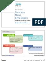Handa Ka Funda-Company Name Etymologies