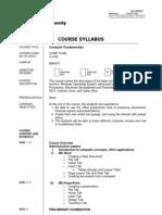 Comp Fund Syllabus