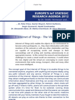Europe's IoT StategicResearchAgenda2012-CHAPTER TWO