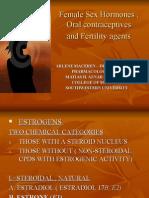 Female Sex Hormones ,