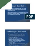 Cont. Slides de Administração II