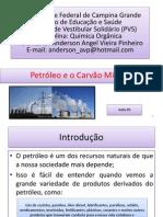 Aula 05 Petróleo e Carvão Mineral