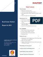 Realestate Market Report in 2011_cafefland