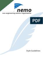 NEMO Style Guide