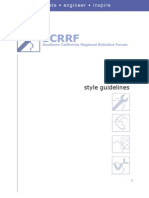 SCRRF Style Guide