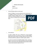 Informe de Investigación de Edmundo Daniel Rosero Espinosa  (La Villa Flora)