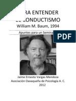 Para Entender El Conductismo William Baum 1994