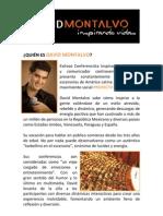 Biografía de David Montalvo-Conferencista Inspiracional