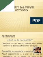 Dermatitis Por Contacto Ocupacional