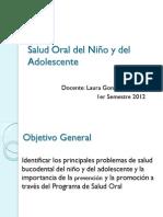 Salud oral del niño y del adolescente