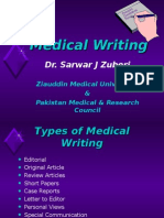 Medical Writting