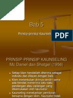 Prinsip-prinsip Kaunseling