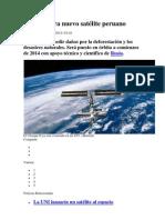 UNI prepara nuevo satélite peruano