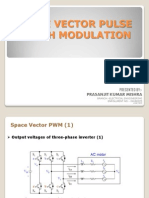 Space Vector Pulse Width Modulation