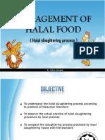 Halal Slaughtering Process