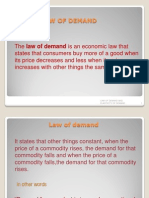 Law of Demand(1)