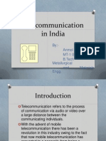Telecommunication in India