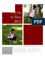 I Wish to Run 2012