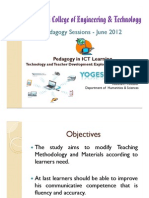 Pedagogy in ICT Learning - Ramani