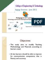 Pedagogy in ICT Learning - Ramani