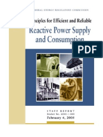 FERC Reactive Power