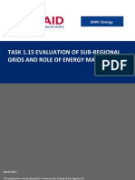 Evaluation of Sub Regional Grids and Role of Energy Markets