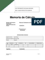 Anexo 8.5.1 Memoria de Calculo