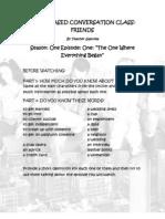 Friends' Worksheet