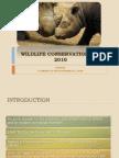 Wildlife Conservation Act 2010.Azah's