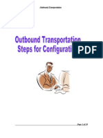 Transportation-Steps for Customization-SAP LES