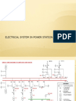 Electrical System in Power Station